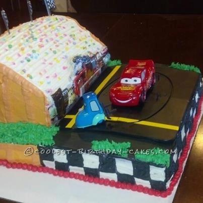 Coolest Pixar Cars Birthday Cake