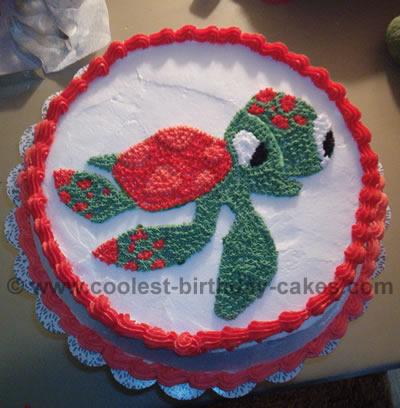 Squirt Cartoon Birthday Cake