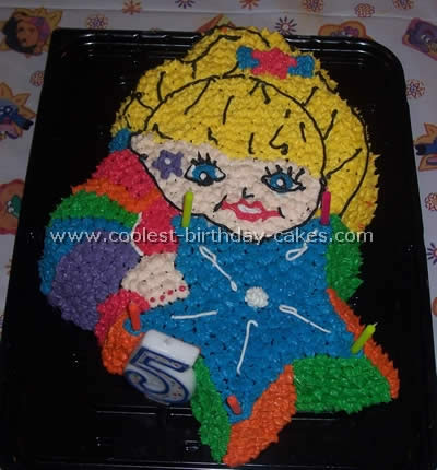 Rainbow Brite Cartoon Birthday Cakes