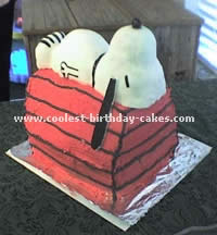 Peanuts - Snoopy and Friends Cartoon Cakes