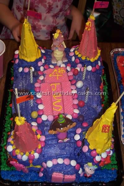Castle Birthday Cake