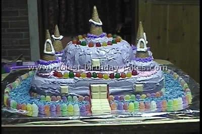 Coolest Castle Cakes