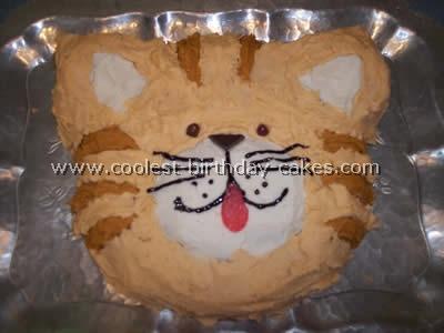 Cat Birthday Cake Picture