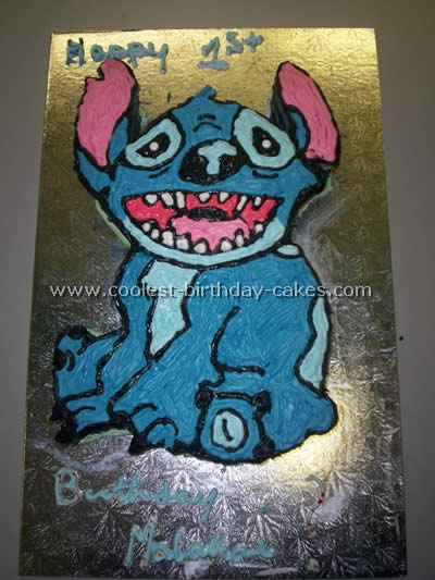 coolest homemade lilo and stitch cakes