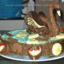 Swan Birthday Cakes