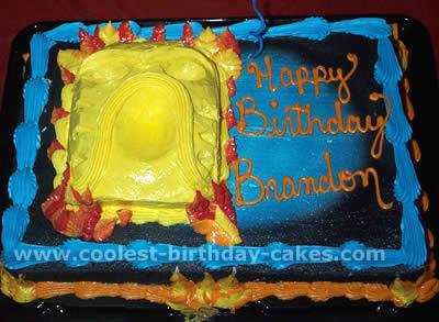 Bionicles Child Birthday Cake Photo