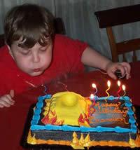 Bionicles Child Birthday Cake Photo