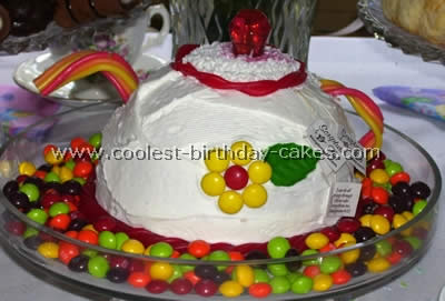 Teapot Childrens Birthday Cake Recipes