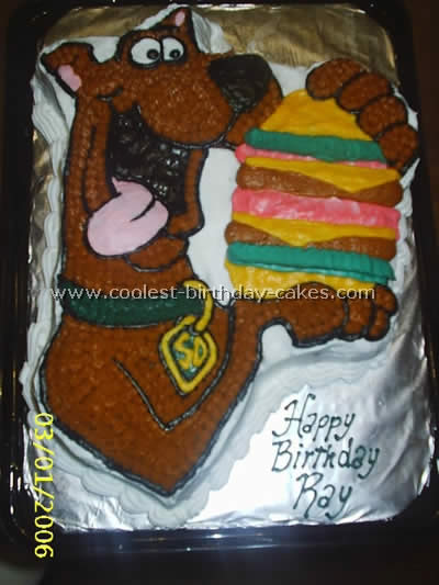 Scooby Doo Childrens Birthday Cake Recipe