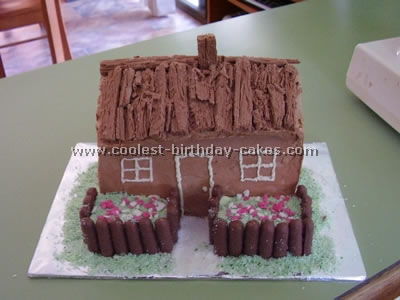 Chocolate Cabin Cake