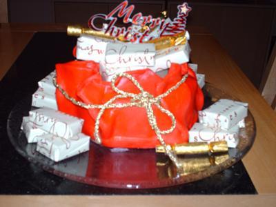 Santa's sack of presents