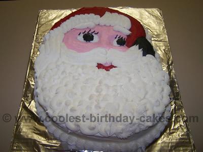 Santa Claus Christmas Cake Recipes