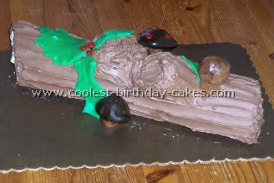 Buche de Noel Christmas Cake
