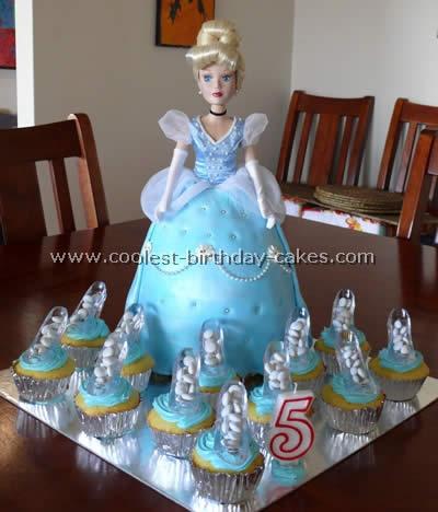 Coolest Homemade Cinderella Birthday Cakes 5