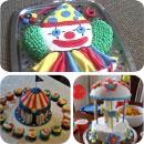 Circus/Carnival Birthday Cakes