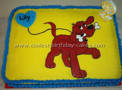 Coolest Clifford The Big Red Dog Cake Photos And Tips 4