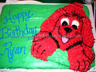 Clifford Cake Photo