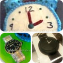 Clocks and Watches Birthday Cakes