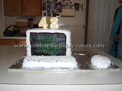 Computer Cake Photo