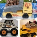 Construction Vehicles Cakes