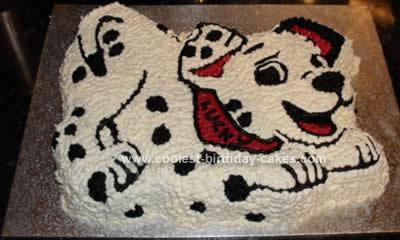 HOmemade 101 Dalmatians Cake