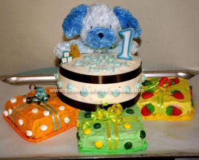 Baby Birthday Cake on Coolest 1st Birthday Cake 37
