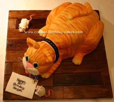 Sugar Free Birthday Cake on Coolest 3d Cat Cake 46