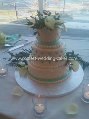 Coolest 3-Tier Wedding Cake