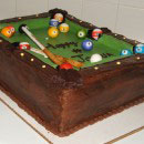 Billiards Birthday Cakes