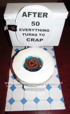 homemade 50th birthday toilet cake mother s day gifts gifts Mother's Day Crochet 50th Birthday Gift Ideas For Men