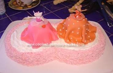 Homemade Angelina Ballerina Cake