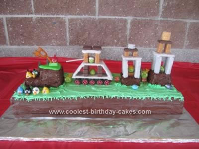Angry Birds Birthday Cake on Coolest Angry Birds Birthday Cake 34