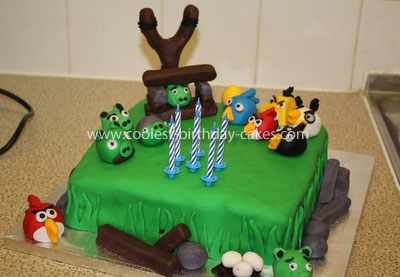 Angry Birds Birthday Cake on Pin Printable Angry Birds Space Coloring Pages Cake Pinterest