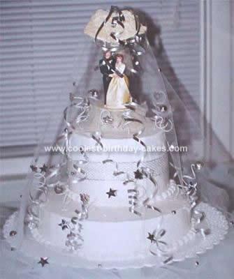 Homemade Anniversary Cake Design