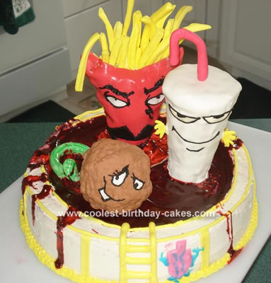 coolest aqua teen hunger force cake 1 21349098 Men want to look at women they consider beautiful and want to imagine having ...