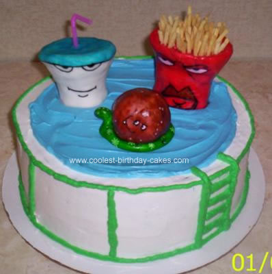 coolest aqua teen hunger force cake 2 21341855 The Official World Sex Records. You won't believe some of the records!