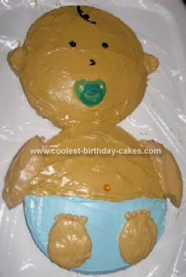 Homemade Baby Cake