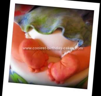 Homemade Baby Cake