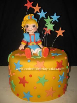 Homemade Baby Einstein Cake
