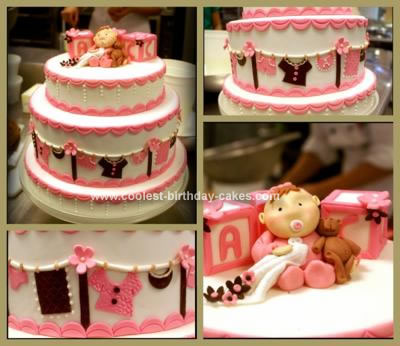 Girl Birthday Cake Ideas on Coolest Baby Girl Shower Cake 44