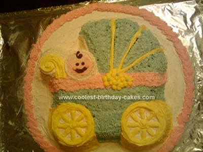Homemade Baby Shower Cakes on Homemade Baby Shower Cake