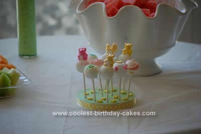 Homemade Baby Shower Cake