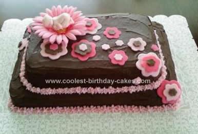 Homemade Baby Shower Cake Design