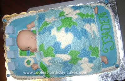 Homemade Baby Shower Cakes on Homemade Baby Shower Cake Design