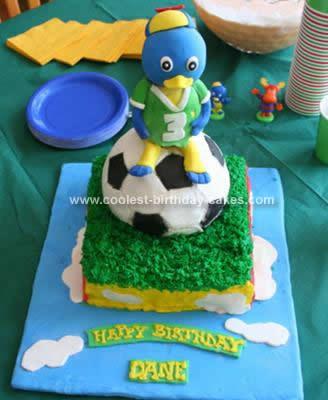 Homemade Backyardigans Birthday Cake Idea