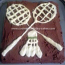 Badminton Birthday Cakes