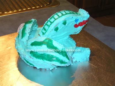 Homemade Bakugan 10th Birthday Cake