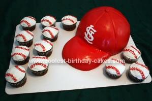 Cardinal's Cap Cake