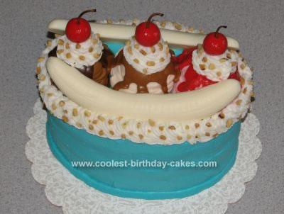 Coolest Banana Split Cake