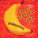 Bananagrams Birthday Cakes